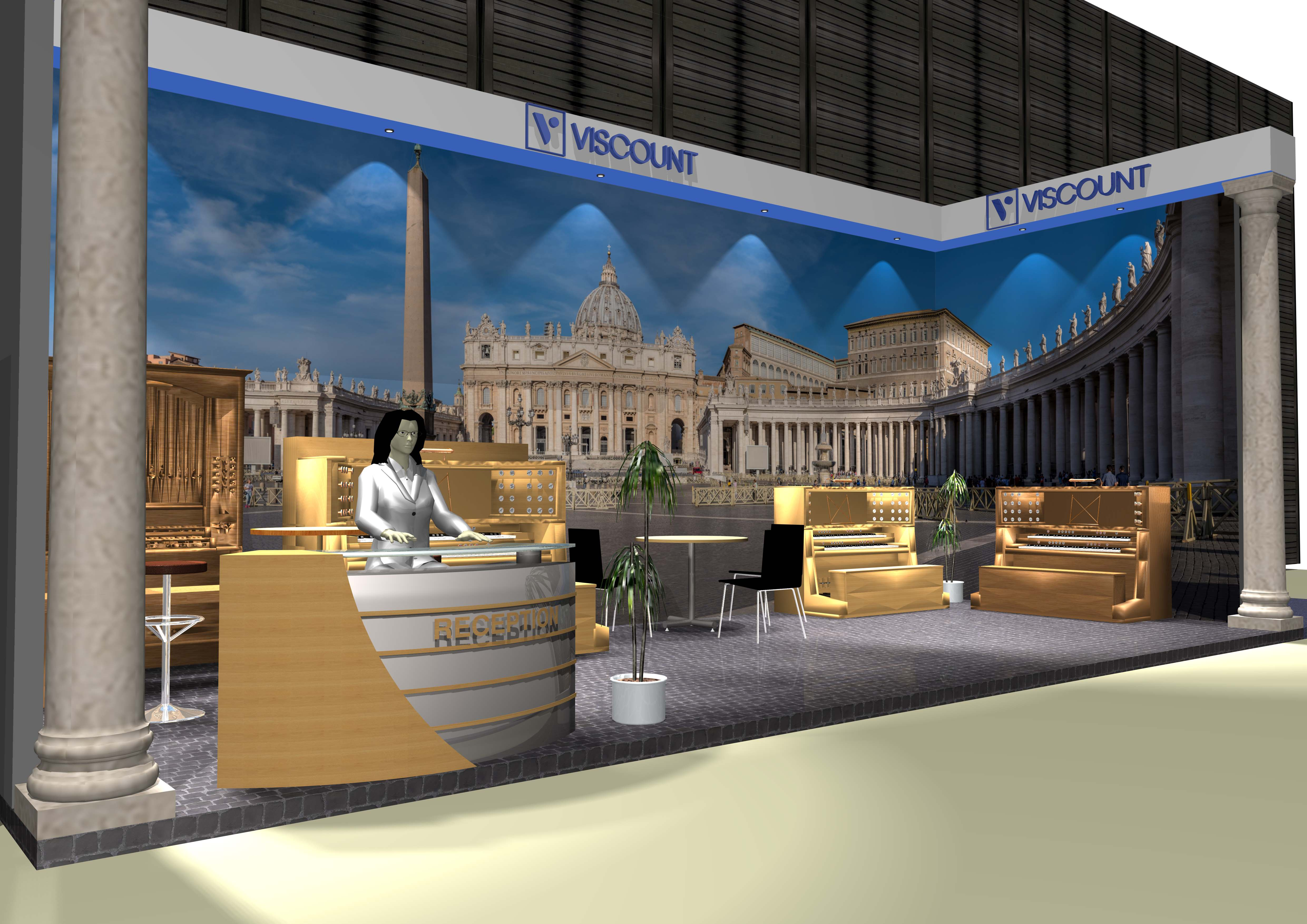 News - Booth rendering for Music China 2019