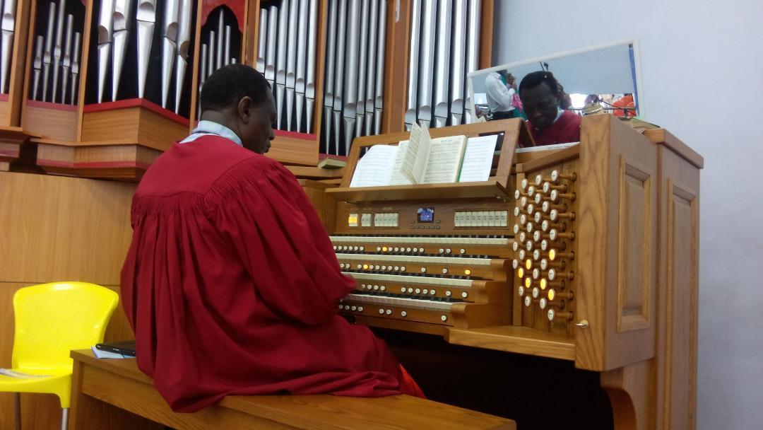 Viscount organ installations in Nigeria