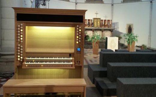 Viscount organ installations in Belgium